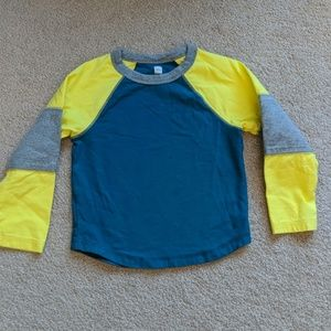 Tea Collection Long Sleeved Tee Size 3 Cotton